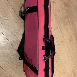 8分の1バイオリンケース ピンク