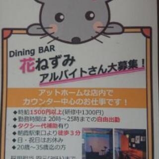 Dining Bar💓アットホームな店内とスタッフ✨一緒に働きま...