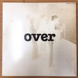 オフコース - OVER LP レコード