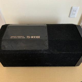 PIONEER TS-WX100 サブウーファー