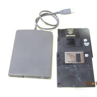 バッファロ USB FDDドライブ 型式 FD-USB  中古品...