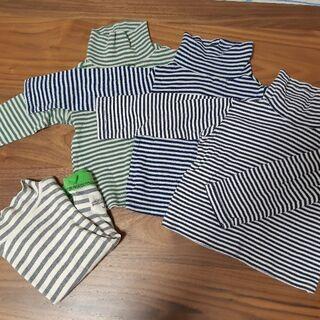 冬物長袖100サイズ三着セット
