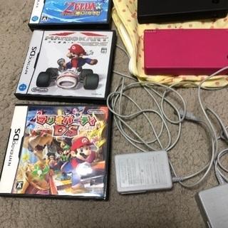 任天堂DS本体、ソフトセット