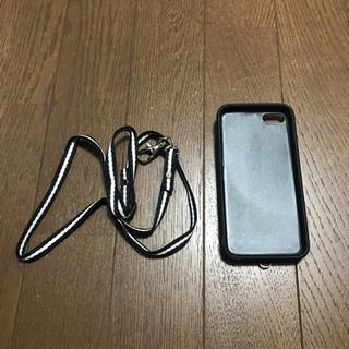 iPhone7.8ケース ストラップ付き