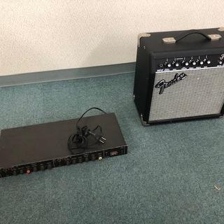 山野楽器フェンダー ギターアンプ・FOSTEX フォステクス 3...