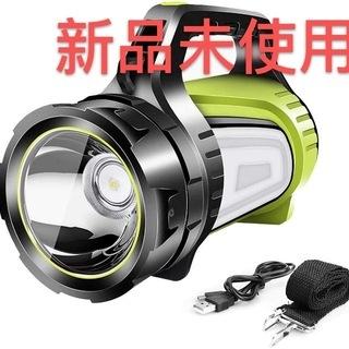 新品 未使用 懐中電灯 強力充電式 LED超高輝度 サイドライト...