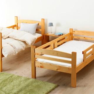 ジュニアサイズの二段ベッド - 大津市