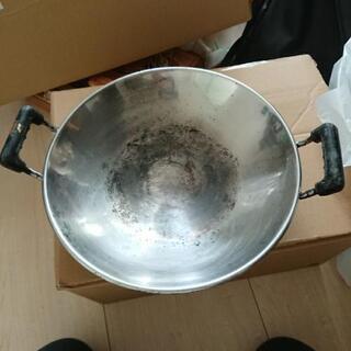 中華鍋 鉄パン