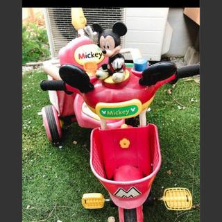 ミッキーマウス ディズニー 三輪車