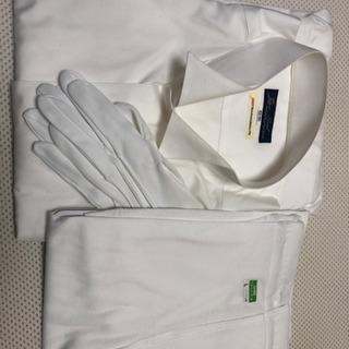 結婚式用 シャツ、手袋  和装用ももひき