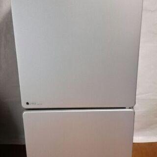 ユーイング 110L 2ドア冷蔵庫(シルバー)右開き UING ...