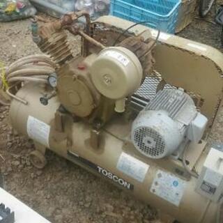 エアーコンプレッサー 200V 中古