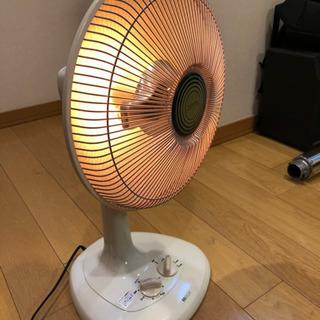 アイアン製 ハロゲンヒーター 扇風機型