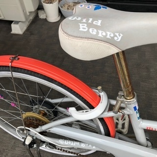 子供用自転車 22インチ ブリヂストン ワイルドベリー - 自転車
