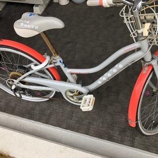 子供用自転車 22インチ ブリヂストン ワイルドベリーの画像