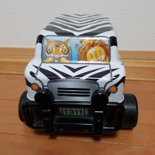 富士サファリパーク サファリジープ缶