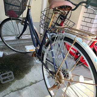 オートライトの自転車差し上げます。