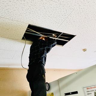 街の電気屋さん(^^) エアコン、家庭用配線、水道工事はお任せ下さい!