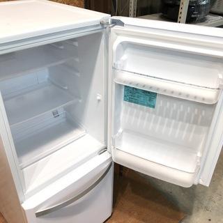 【管理KRR112】Haier 2016年 JR-NF140K 138L 2ドア冷凍冷蔵庫 - 家電