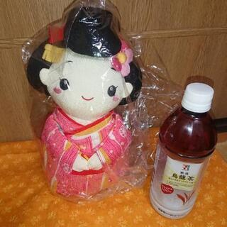 ちりめんの人形です とてもかわいい女の子です - 札幌市