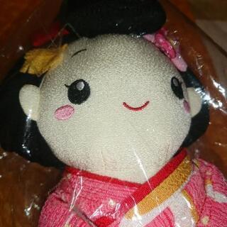 ちりめんの人形です とてもかわいい女の子です − 北海道