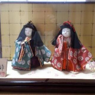雛祭りの時に飾るお人形、差し上げます