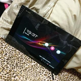 (決まりました)docomo Xperia tablet z