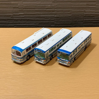 バスコレクション 岩手県交通 3台