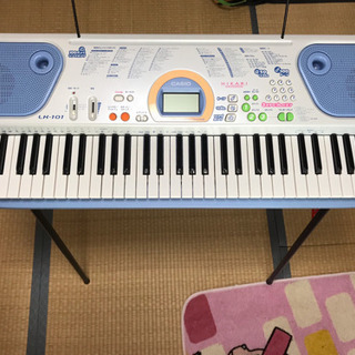 カシオ 電子ピアノ キーボード Lk-101