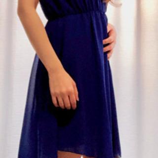 【未使用】 ロイヤルブルー ワンピース ドレス ステージ衣装に