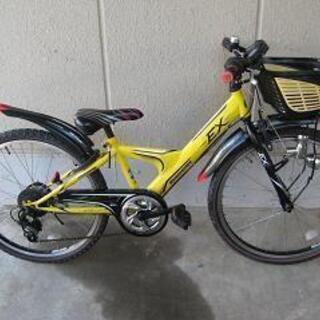 〔中古〕ブリヂストン製24インチ子供用マウンテンバイク(シ…