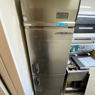 (店舗用)冷蔵庫、冷凍庫、吊り棚 3点セット