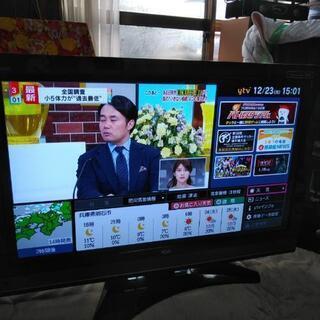 HITACHI    【Wooo】録画ハードディスク内蔵液晶テレビ37インチ - 明石市