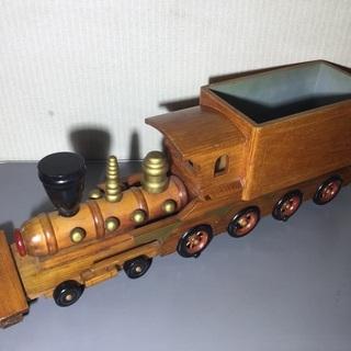 蒸気機関車 汽車 列車 インテリア 小物入れ