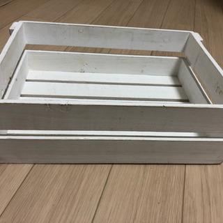 白 木箱 オシャレ ボックス Box