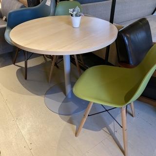 テーブル3点セット テーブル チェア ナチュラル グリーン…