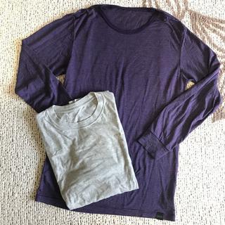 ユニクロ ヒートテック 綿100%Tシャツ