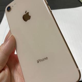 最終値下げになります!!iphone8 64G gold
