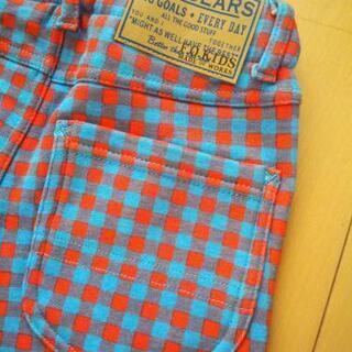 新品ぬっくぬくロングパンツ130サックス☆エフオーキッズ/F.O.KIDS    − 岡山県