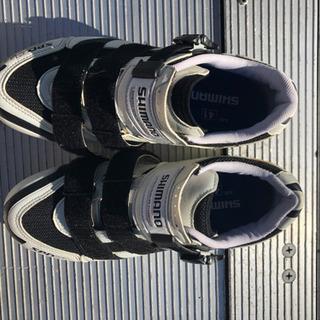 ロードバイク用の靴