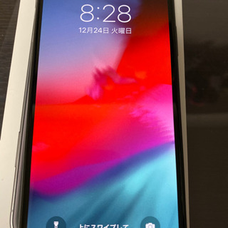 iPhone X Space Gray 64 GB SIMフリー
