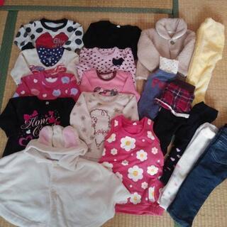 ★★80サイズ冬物17着セット★女の子
