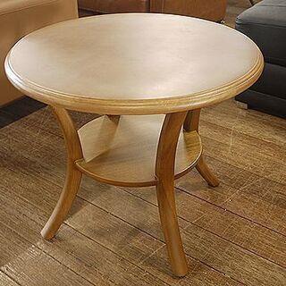 丸テーブル!コーヒーテーブルはいかがですか?通常15800…