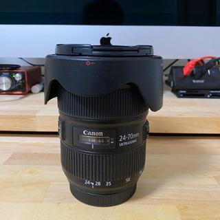 Canon キヤノン EF 24-70mm F2.8 L Ⅱ USM