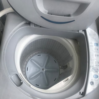 4.2㌔洗濯機・28日まで限定・引っ越しのため急募価格・早い者勝ちです