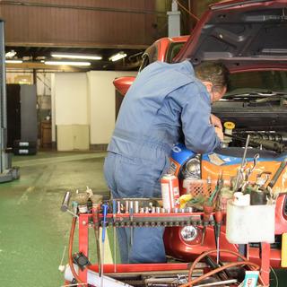 【未経験歓迎】 自動車整備工場のメカニック 【整備士大募集】