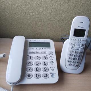 子機付き 電話機 SHARP JD-G32