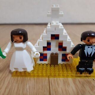 nano block 結婚式 HAPPY WEDDING