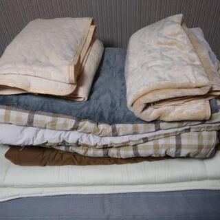 布団セット(枕以外) セミダブルサイズ