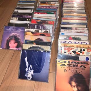 【値下】 CDシングル66枚セット プラスチックケース入り おま...